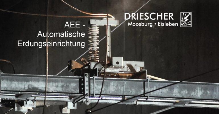 DRIESCHER: Automatische Erdungseinrichtung mit Kurzschlussversuch