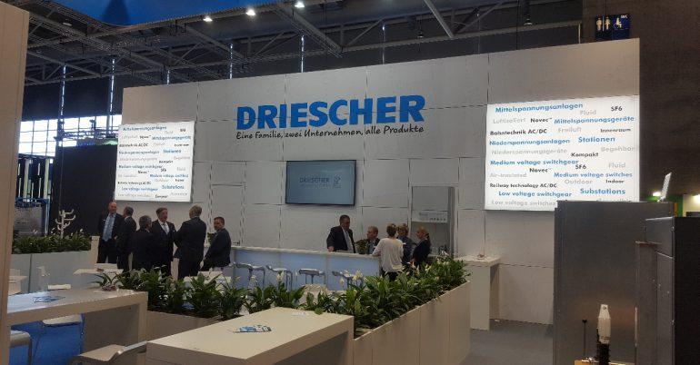 DRIESCHER auf der Hannover Messe Industrie 2019