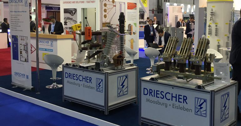 DRIESCHER auf der Middle East Electricity 2019 in Dubai