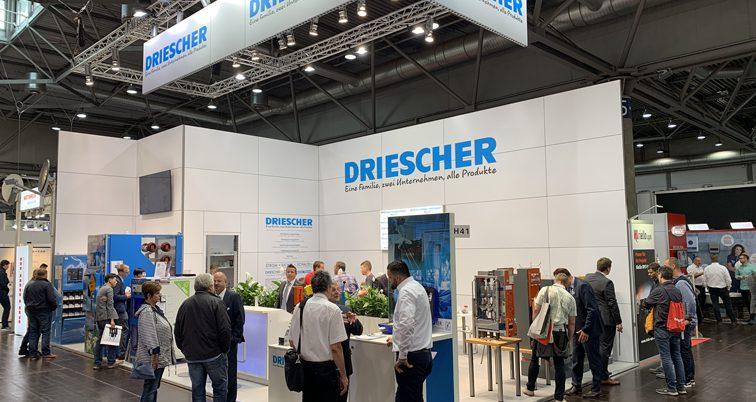 DRIESCHER auf der efa Leipzig 2019