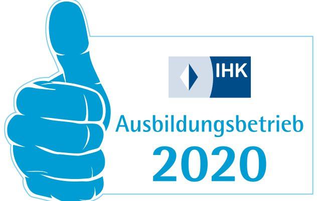 Ausbildungssigel 2020 der IHK