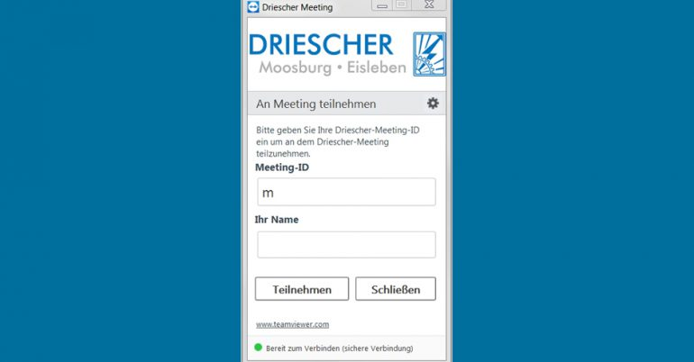 Tutorial DRIESCHER TeamViewer